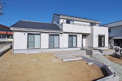 二世帯住宅施工事例