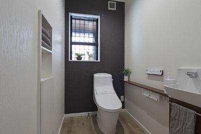 リラックスできるトイレ施工事例